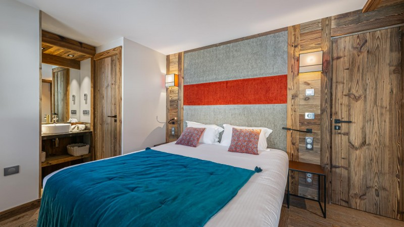 Val d'Isère Location Appartement Luxe Varnite Chambre2