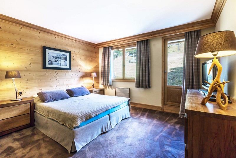 Val d'Isère Location Appartement Luxe Varolite Chambre
