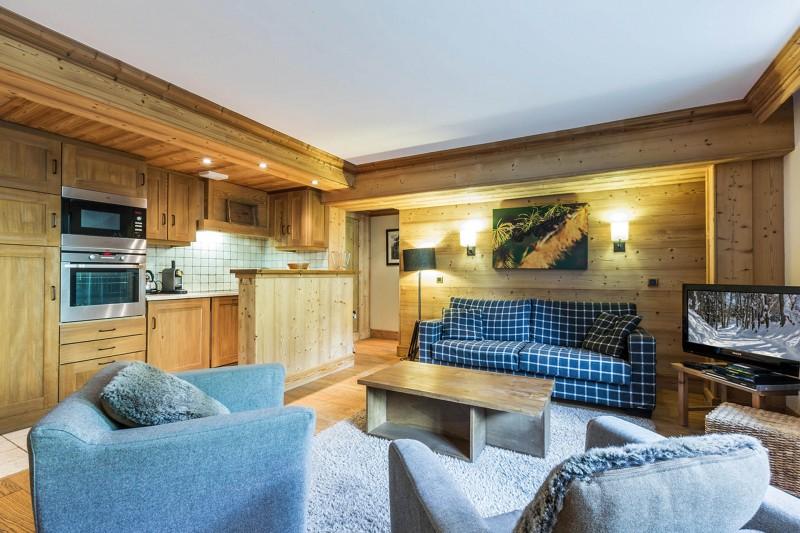Val d'Isère Location Appartement Luxe Varolite Séjour