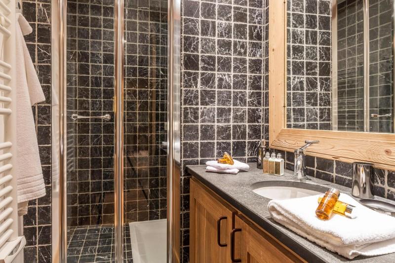 Val d'Isère Location Appartement Luxe Varolite Salle De Douche