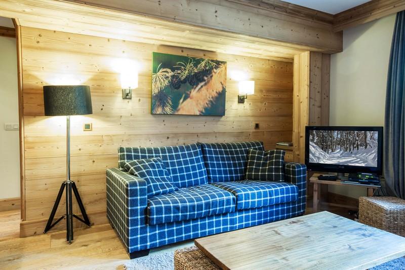 Val d'Isère Location Appartement Luxe Varolite Séjour 5
