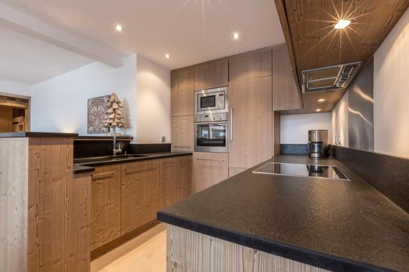 Val d'Isère Luxury Rental Apartment Vaselate Kitchen