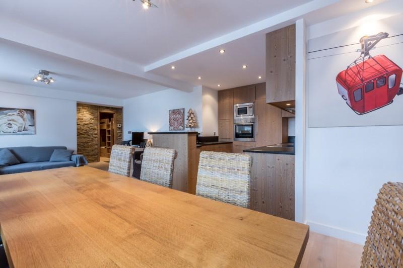 Val d'Isère Luxury Rental Apartment Vaselate Living Area 2