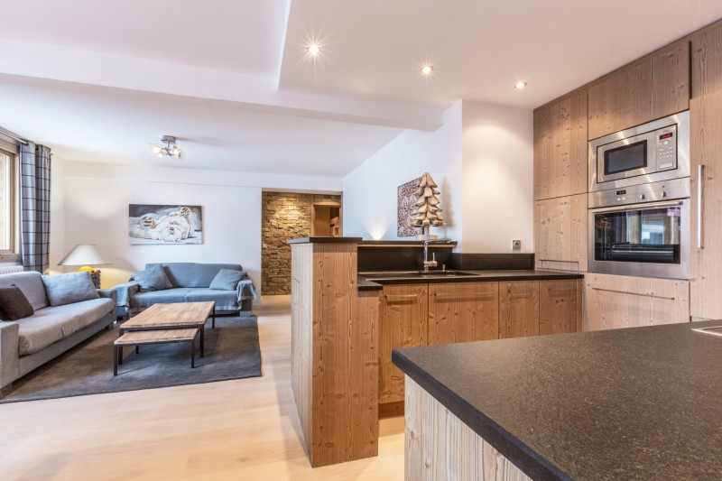 Val d'Isère Luxury Rental Apartment Vaselate Living Area 4