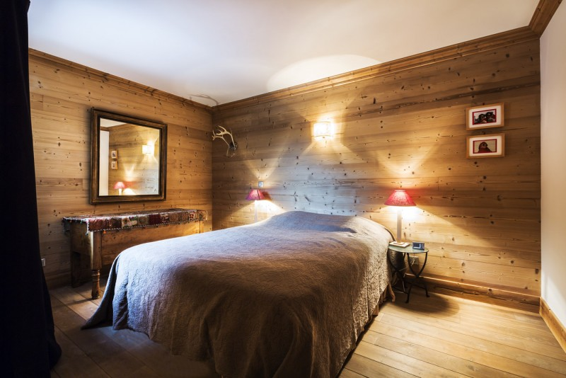 Val d'Isère Location Appartement Luxe Vaselite Chambre