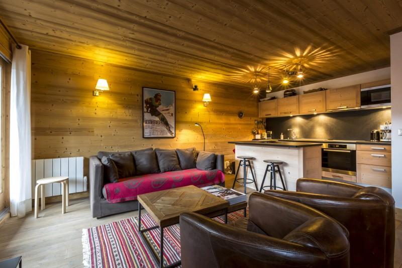 Val d'Isère Location Appartement Luxe Vaselite Séjour 2