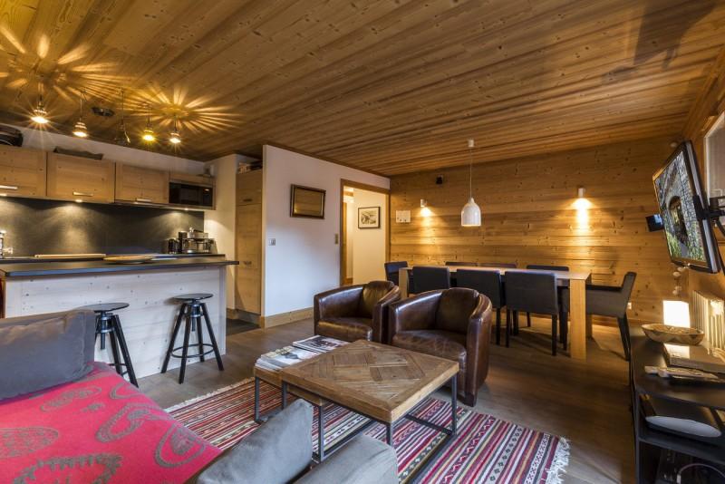 Val d'Isère Location Appartement Luxe Vaselite Séjour 3