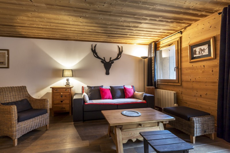 Val d'Isère Luxury Rental Apartment Vaselote Living Area 2