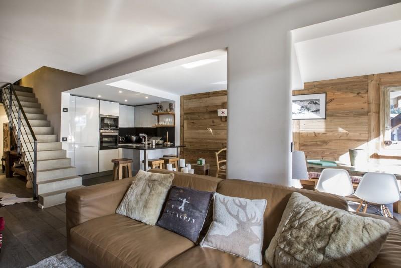 Val d'Isère Luxury Rental Apartment Vasilite Living Area 4