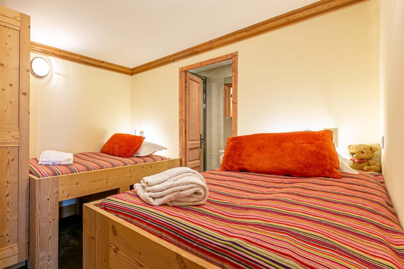 Val d'Isère Luxury Rental Apartment Vatalis Bedroom 3