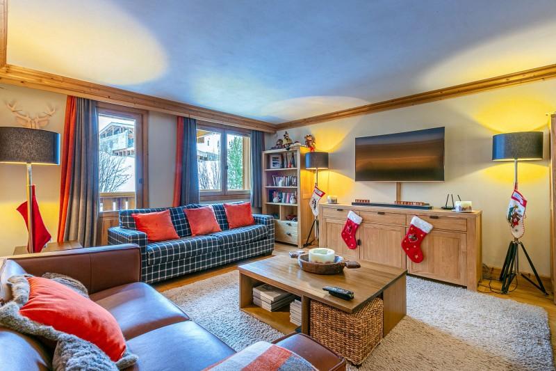 Val d'Isère Luxury Rental Apartment Vatalis Living Area