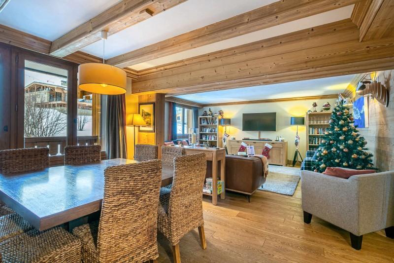Val d'Isère Luxury Rental Apartment Vatalis Living Area 2