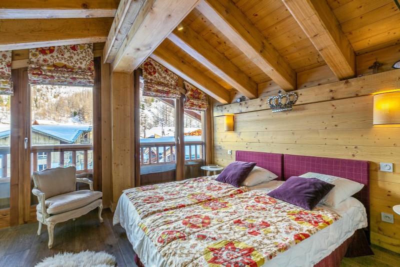 Val d'Isère Luxury Rental Apartment Vatelis Bedroom