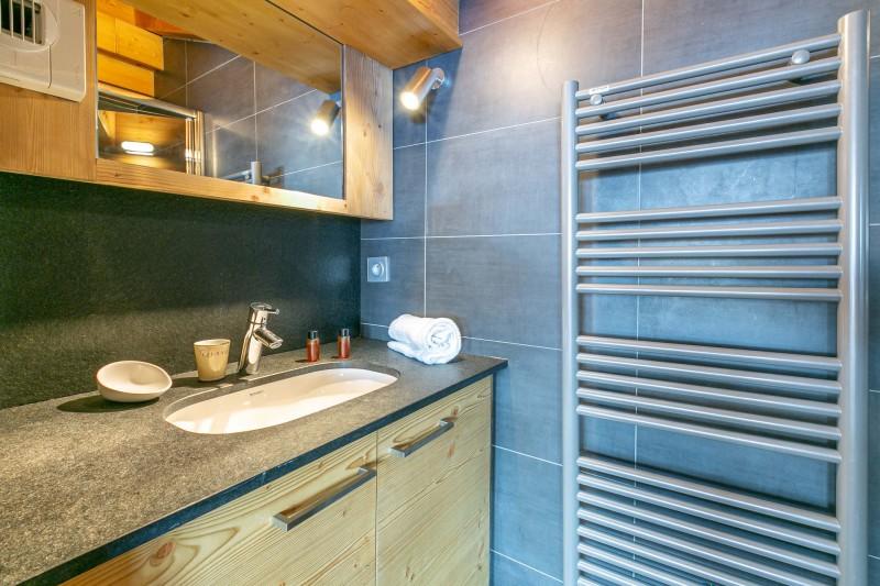 Val d'Isère Luxury Rental Apartment Vatelis Bathroom