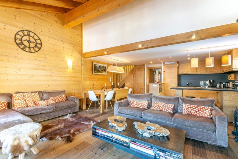 Val d'Isère Luxury Rental Apartment Vatelis Living Area 2