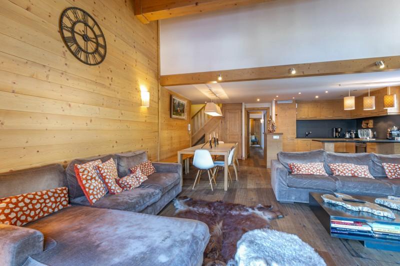 Val d'Isère Luxury Rental Apartment Vatelis Living Area 3