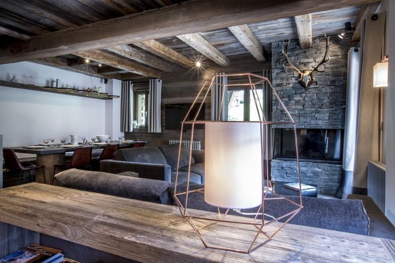 Val d'Isère Luxury Rental Appartment Vatilis Living Area 4
