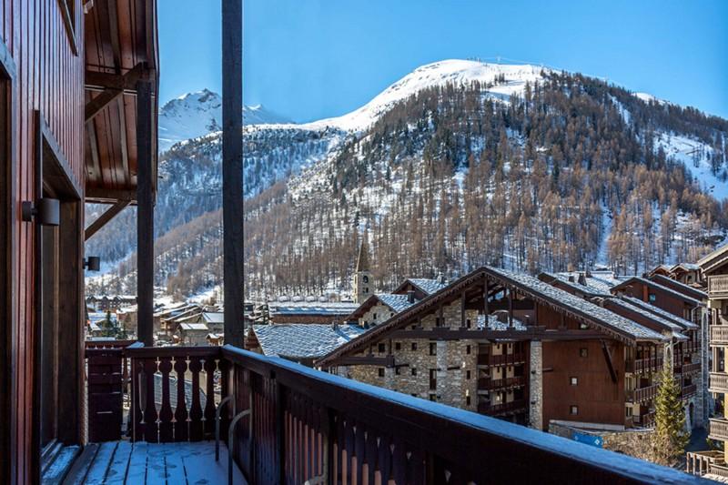 Val d'Isère Location Appartement Luxe Vatolis Balcon 2