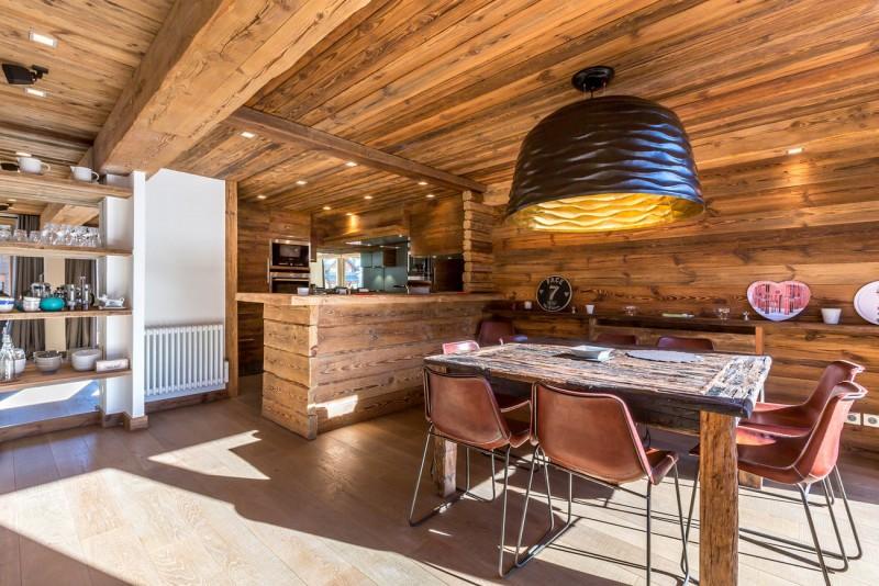 Val d'Isère Location Appartement Luxe Vatolis Salle A Manger 2