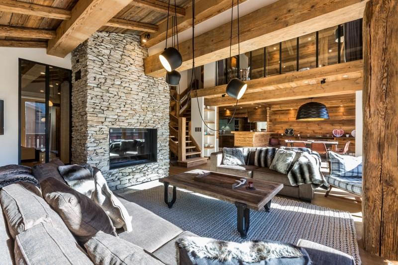 Val d'Isère Location Appartement Luxe Vatolis Séjour