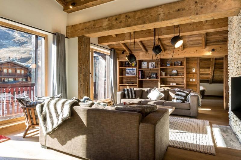 Val d'Isère Location Appartement Luxe Vatolis Séjour 2