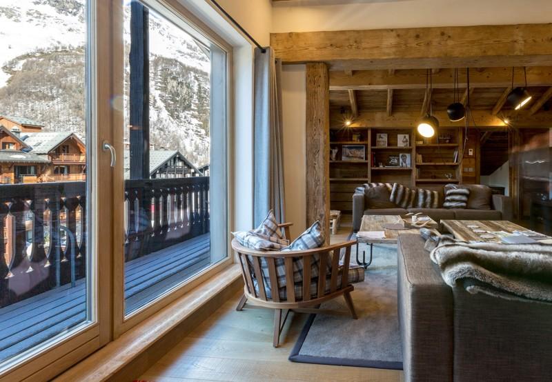 Val d'Isère Location Appartement Luxe Vatolis Séjour 4