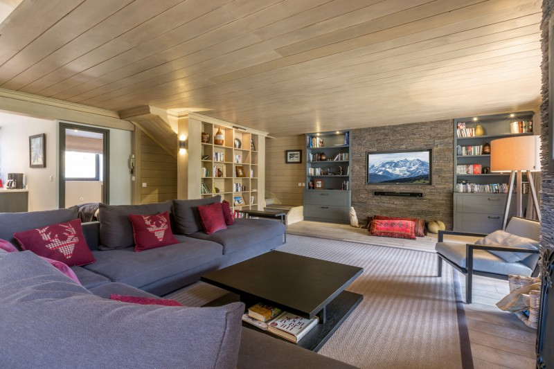 Val d'Isère Luxury Rental Apartment Vaxite Living Area 2