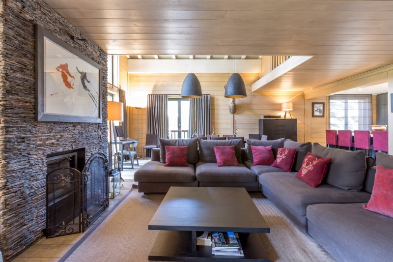 Val d'Isère Luxury Rental Apartment Vaxite Living Area 4