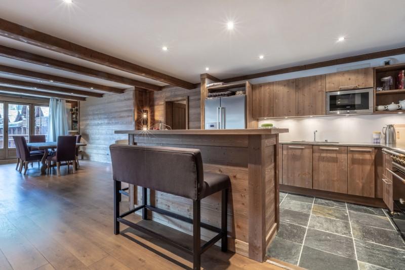 Val d'Isère Location Appartement Luxe Venturina Cuisine