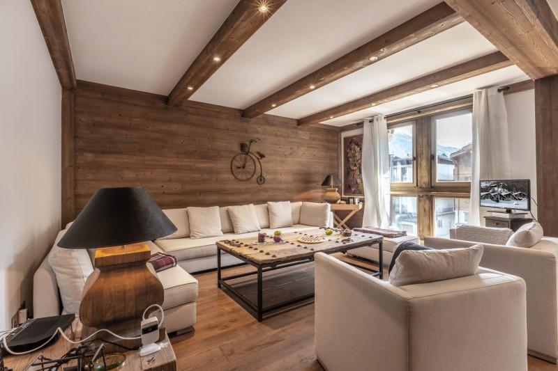 Val d'Isère Location Appartement Luxe Venturina Séjour 2