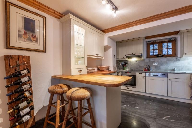 Val d'Isère Location Appartement Luxe Veridine Cuisine