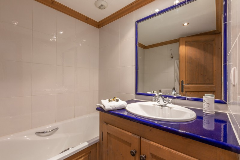 Val d'Isère Location Appartement Luxe Veridine Salle De Bain 4