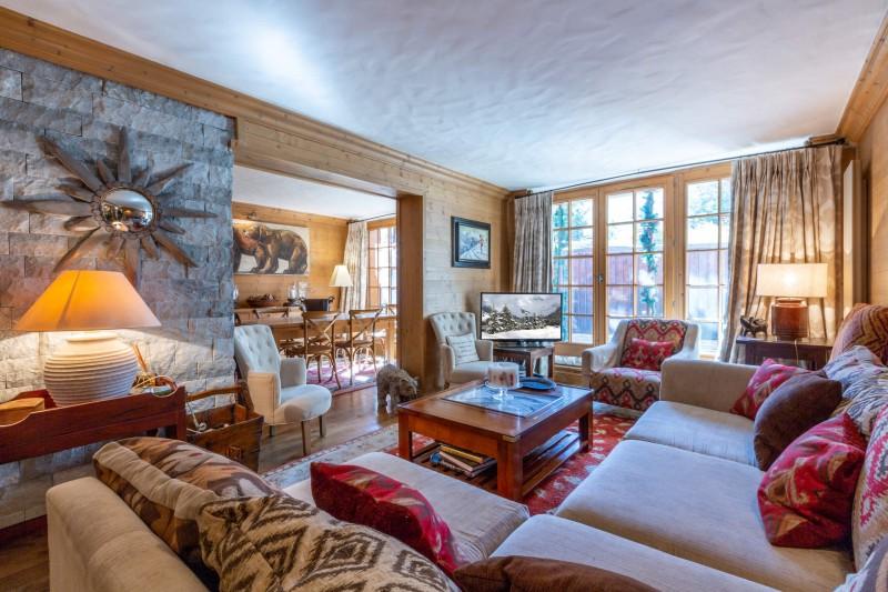 Val d'Isère Location Appartement Luxe Veridine Séjour 3