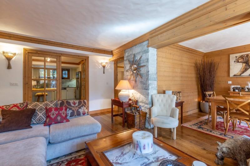Val d'Isère Location Appartement Luxe Veridine Séjour 4