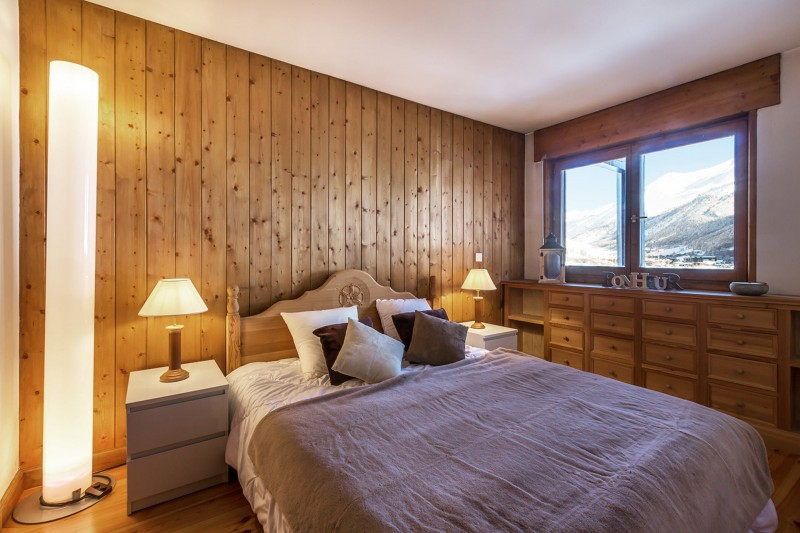 Val d'Isère Location Appartement Luxe Vesuvin Chambre 2