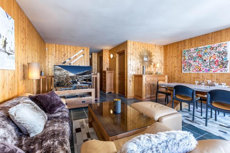Val d'Isère Luxury Rental Apartment Vesuvin Living Area