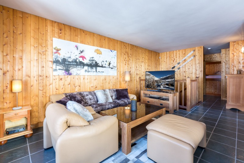 Val d'Isère Luxury Rental Apartment Vesuvin Living Area 2