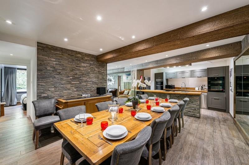 Val d'Isère Location Appartement Luxe Vigiz Salle A Manger 2