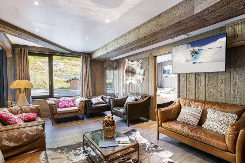 Val d'Isère Luxury Rental Appartment Vigiz Living Area