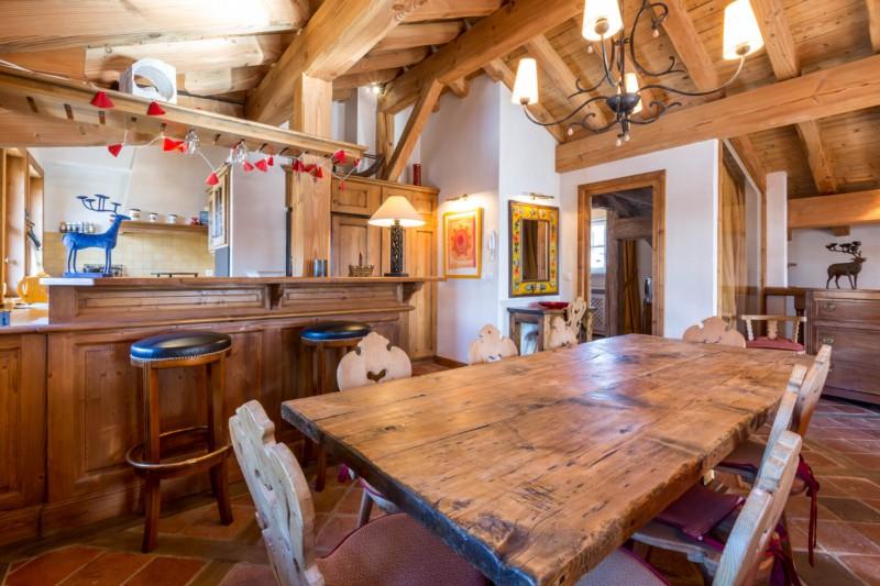 Val d'Isère Location Appartement Luxe Violane Salle A Manger 2