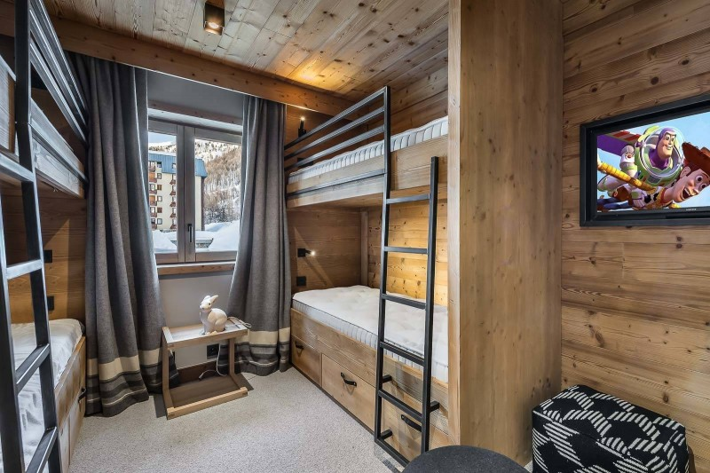 Val d'Isère Location Appartement Luxe Virlite Chambre 2