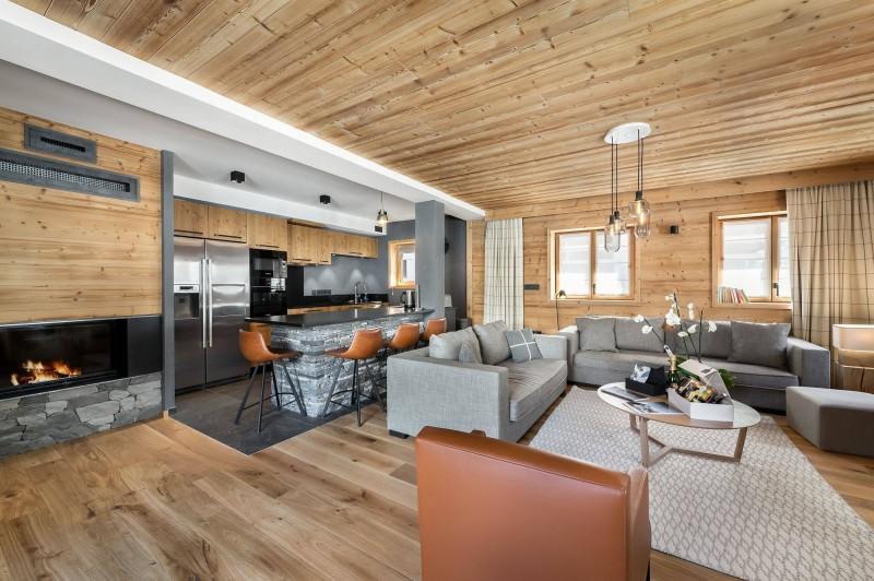Val d'Isère Location Appartement Luxe Virlite Séjour