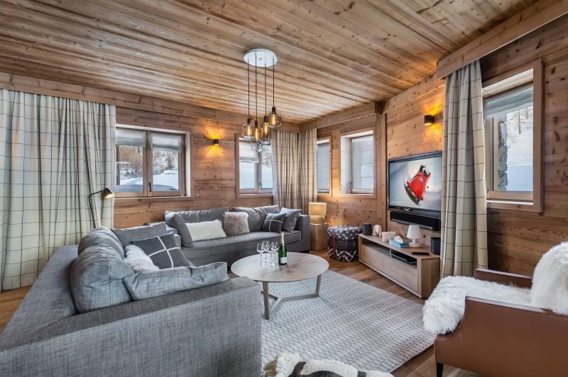 Val d'Isère Location Appartement Luxe Virlite Séjour 3