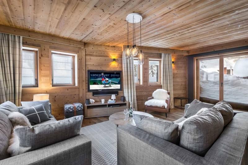 Val d'Isère Location Appartement Luxe Virlite Séjour 4