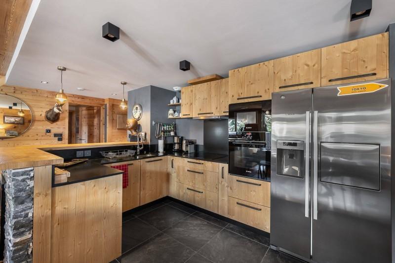 Val d'Isère Luxury Rental Appartment Virlonte Kitchen