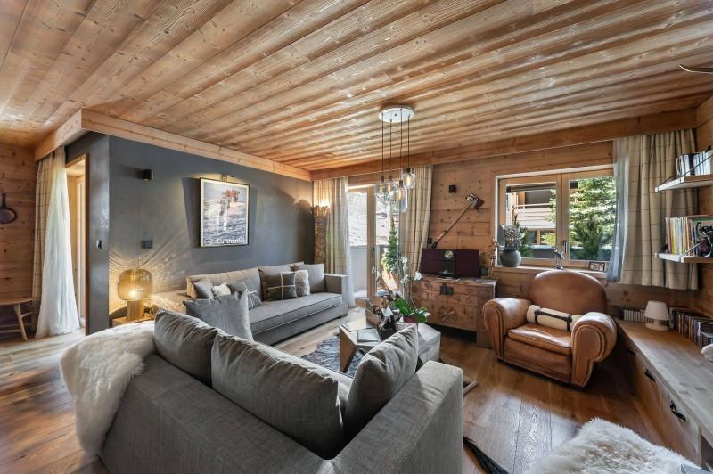Val d'Isère Luxury Rental Appartment Virlonte Living Area
