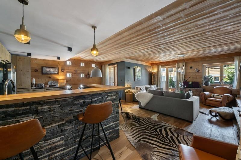 Val d'Isère Luxury Rental Appartment Virlonte Living Area 2
