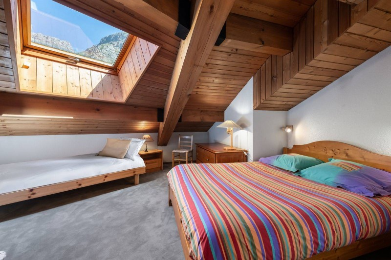 Val d'Isère Location Appartement Luxe Vitalane Chambre 2