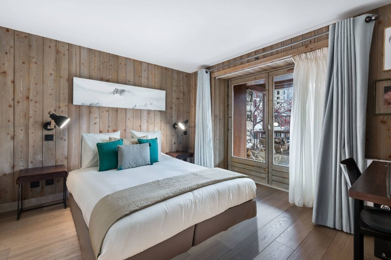 Val d'Isère Location Appartement Luxe Vitali  Chambre 2