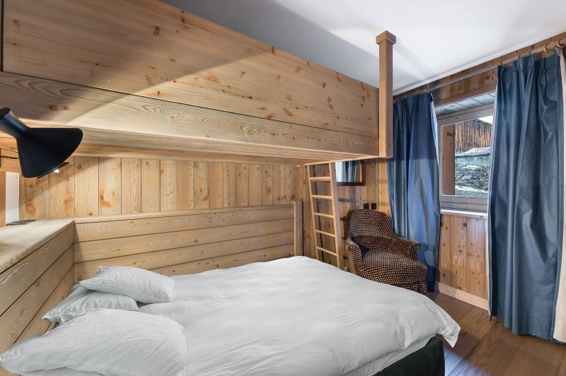 Val d'Isère Location Appartement Luxe Vitali  Chambre 3